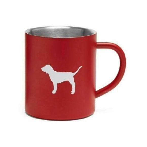 VS PINK Dog Mug Cup Red